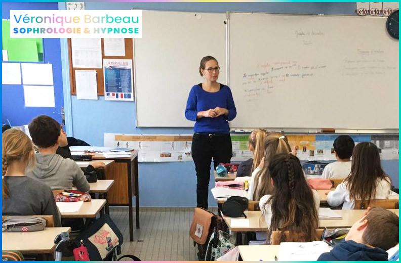 Sophrologie et relaxation à l'école - Véronique Barbeau Sophrologie & Hypnose
